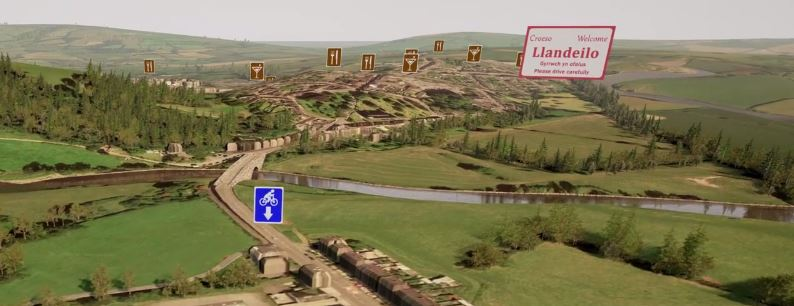 The Tywi Path | Using 360° Animation for Engagement, Consultation and Promotion