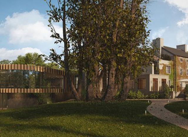 Fairy Hill Hotel   Using CGIs for Planning
