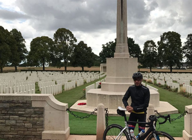 Rich Rides To The Somme