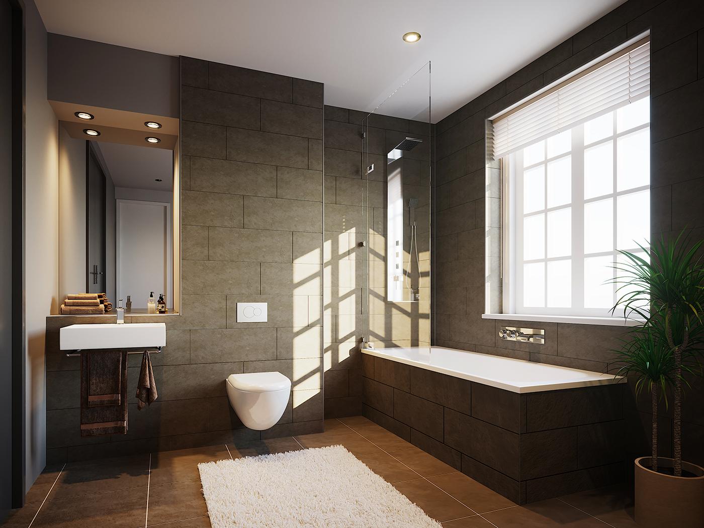 Bathroom 3D visualisation