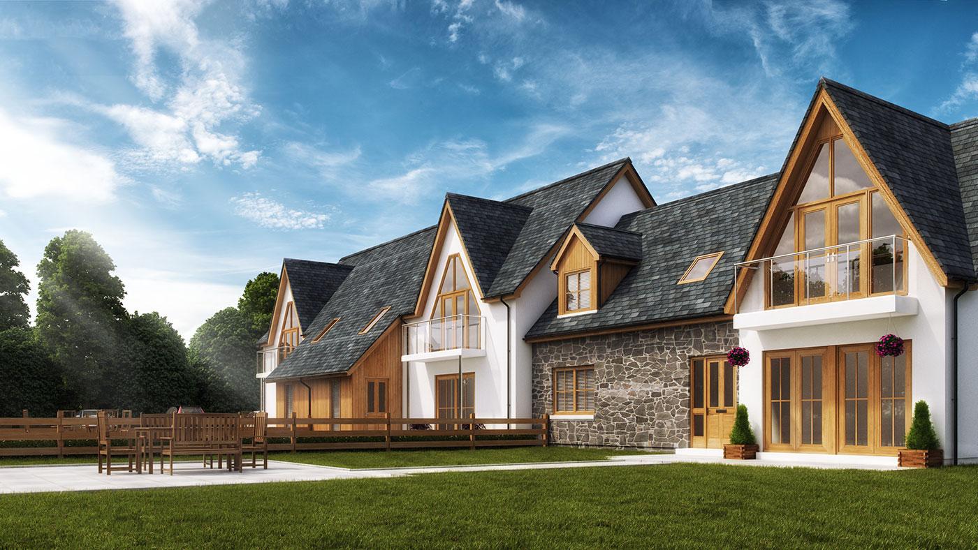 Property Marketing - Tower Ridge CGI